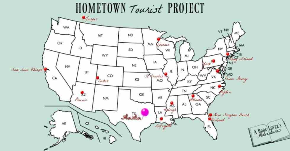 Living in Austin Map