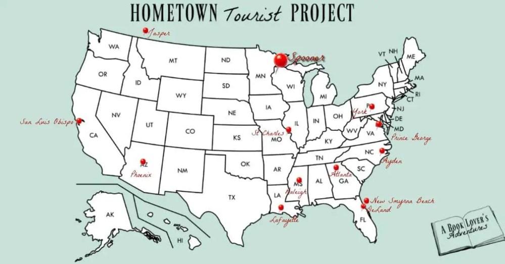 Spooner, WI Map