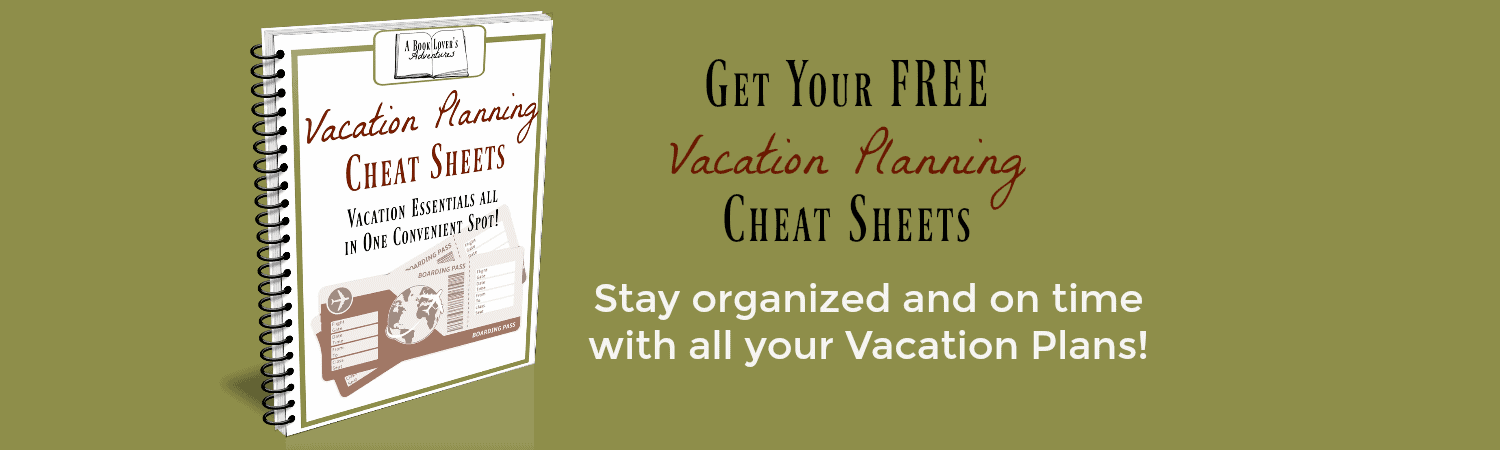 vacation planning sheets