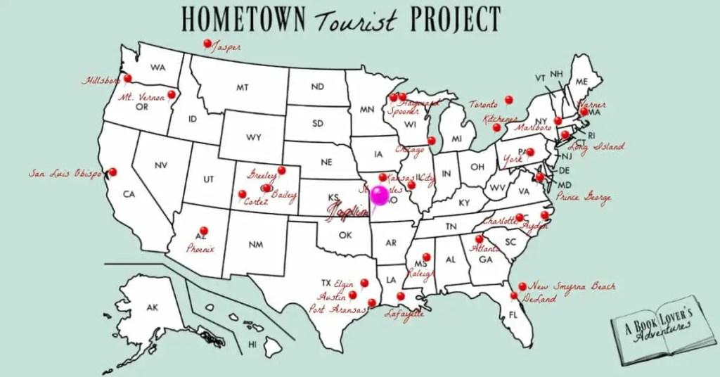Joplin MO map