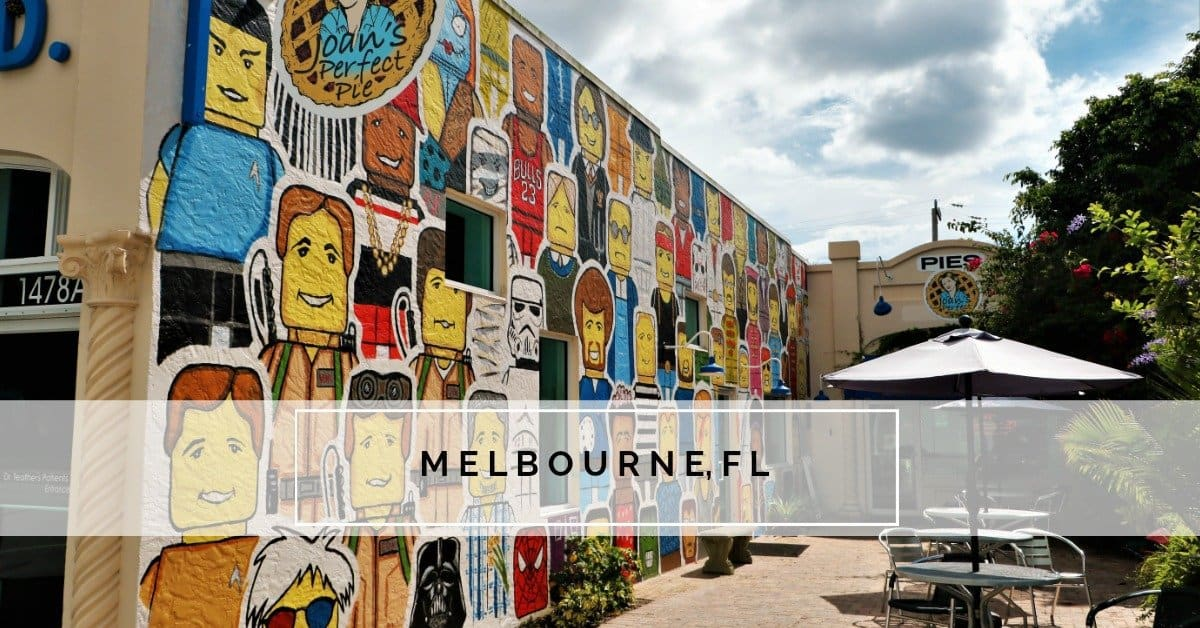 Downtown Melbourne is a favorite place to visit