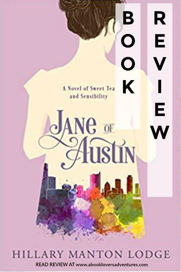 Book cover of Jane of Austin a modern Jane Austen retelling
