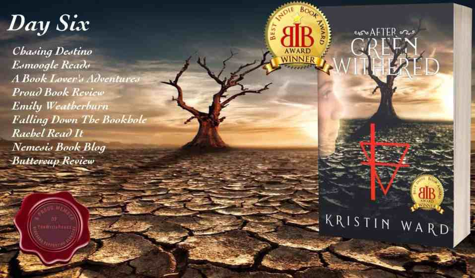 After the Green Withered dystopian fiction blog tour