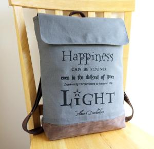 Handmade Harry Potter rucksack, useful Harry Potter products