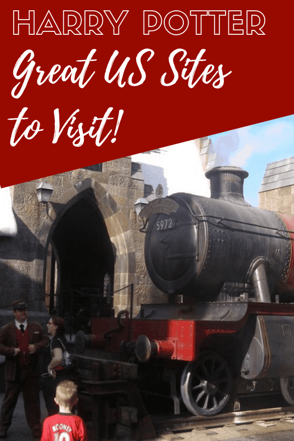 Harry Potter USA destinations