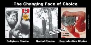 """GAP Sign - """"The Changing Face of Choice"""""""