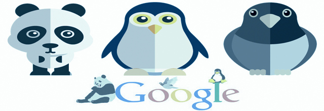Google: Panda, pingouin et Pigeon