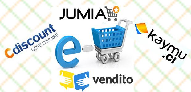 Les sites e-commerce en Cote d'Ivoire