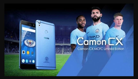 Smartphone TECNO mobile CAMON CX Manchester City Limited Edition, 7 choses à savoir