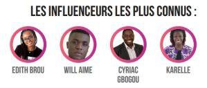 Les influenceurs web les plus connus en Afrique