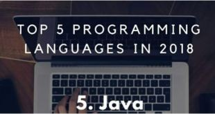 ItNews top 5 des langages de programmation informatique en 2018