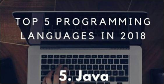ItNews top 5 des langages de programmation informatique en 2018