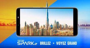 Le Spark2 de Tecno Mobile poursublimervotre vie
