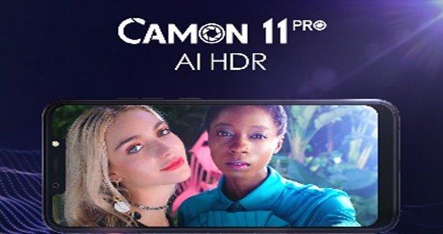 Les Camon 11 Pro & Camon 11 pour des Selfies plus intelligents 11