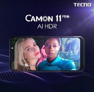 Les Camon 11 Pro & Camon 11 pour des Selfies plus intelligents