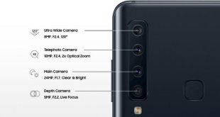 Les innovations de l'appareils photo du Galaxy A9  aux quad-appareil photo