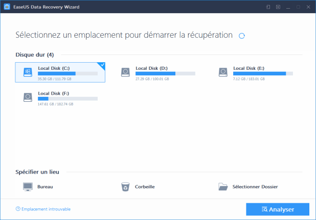 Installation EaseUS Data Recovery Wizard Professional 1