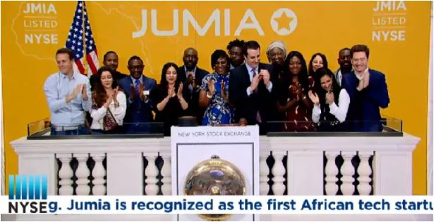 Jumia, la Start-up du e-commerce Africain coté à la bourse de New York