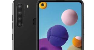 Le Samsung Galaxy A21 possède une batterie de 4000 mAh et quatre caméras arrière