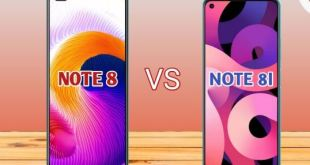 Comparaison mobile Infinix NOTE 8 v NOTE 8i
