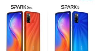 TECNO MOBILE Comparatif Tecno Spark 5 Pro & Spark 5
