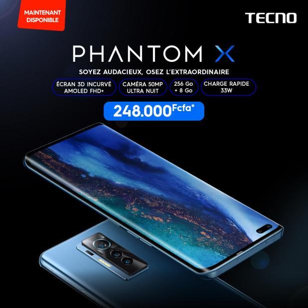 TECNO MOBILE : Le téléphone qui vous rend EXTRAORDINAIRE est maintenant disponible