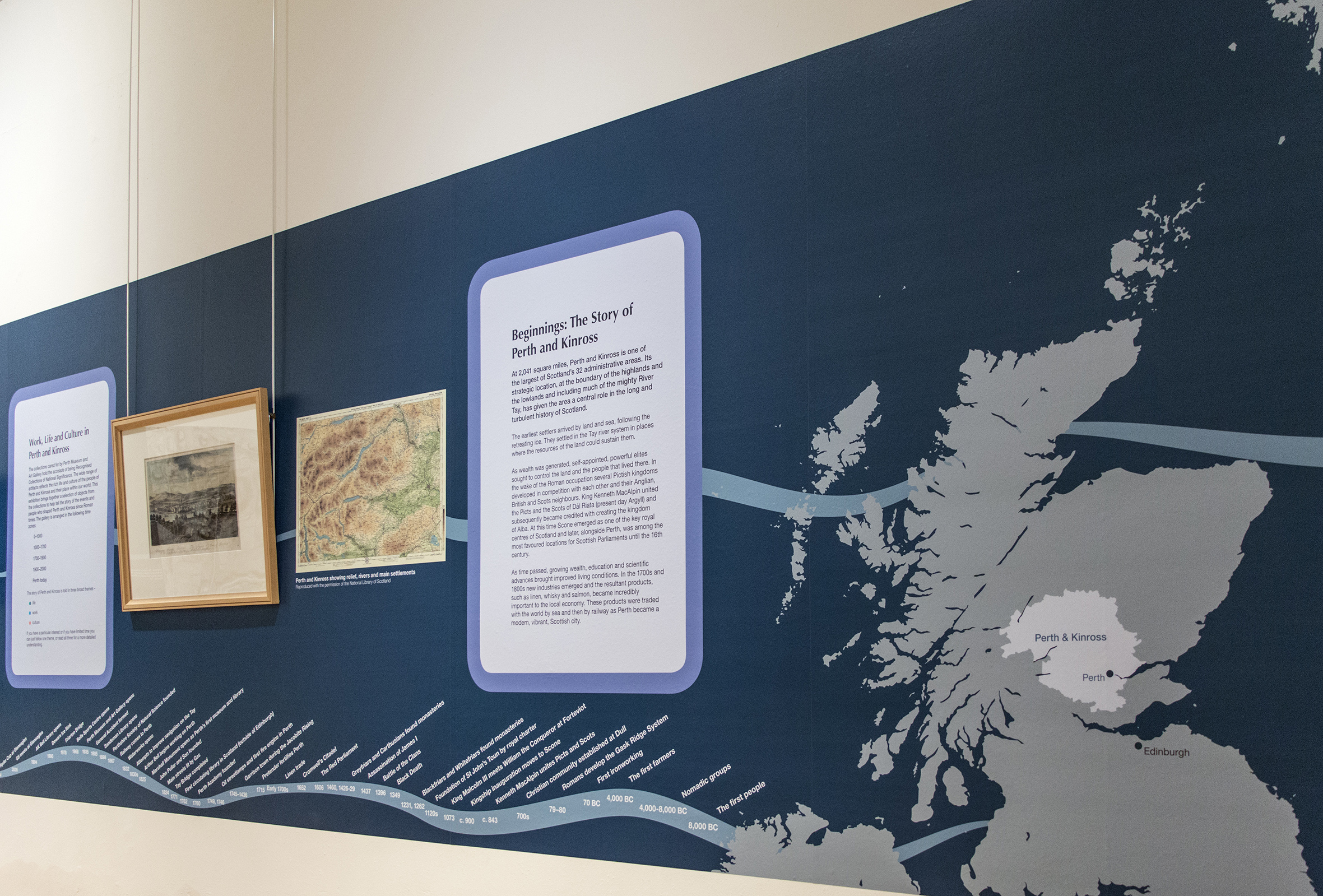 The Story of Perth and Kinross exhibition introduction