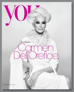 Carmen Dell'Orefice, beauty queen