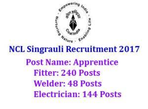 NCL Singrauli Recruitment
