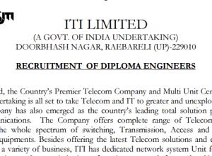 ITI Ltd jobs