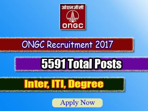 ONGC Apprentice Recruitment 2017