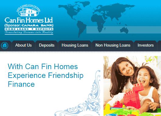 Can Fin Homes Recruitment 2017