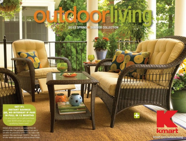 night backyard makeover with kmart