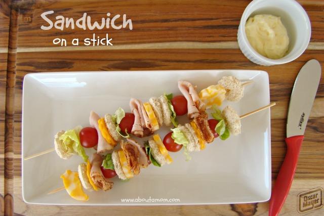 Fun Sandwich Ideas for Kids - Sandwich on a Stick
