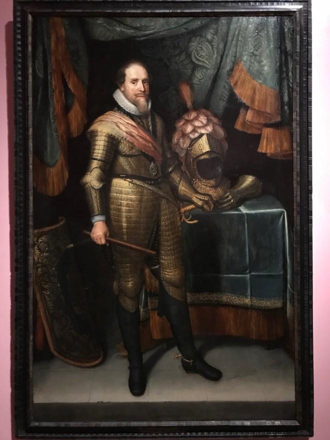 Maurits, prins van Oranje door Michiel van Mierenvelt