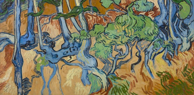 'Boomwortels', Vincent Van Gogh, 1890