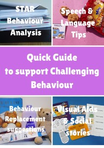 Quick Guide to Challenging Behaviour