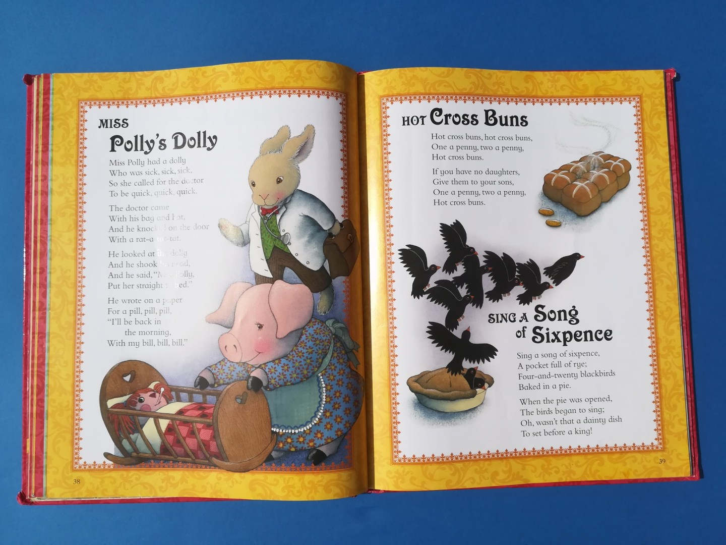 Music and autism, nursery rhyme book