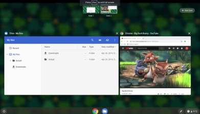 How to get the old on-screen Chrome OS keyboard shortcuts