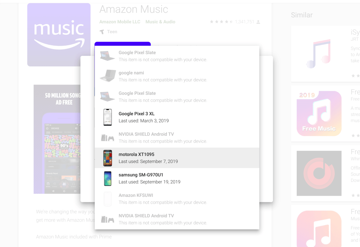 Why has Amazon pulled its  Music Android app from Chromebooks?