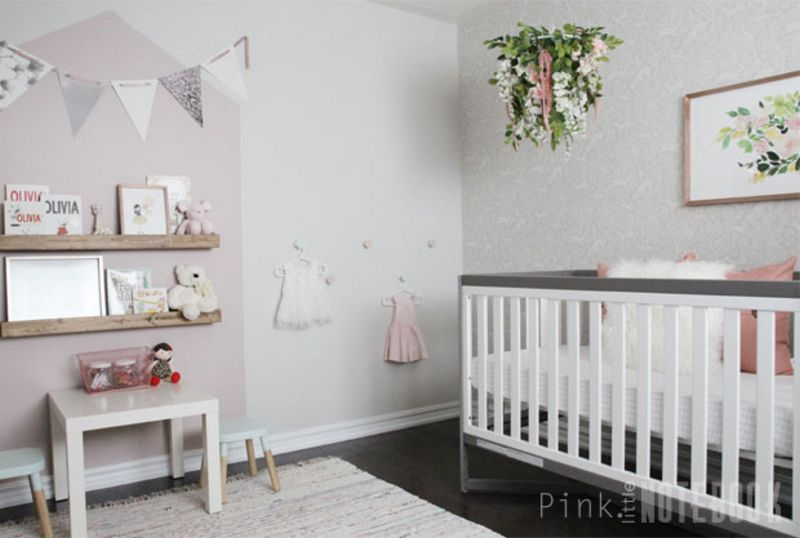 Reveal : Baby Girl's Whimsical Nursery