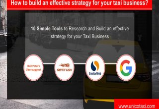 10 Simple tools to research & build effectve strategy for taxi or any business