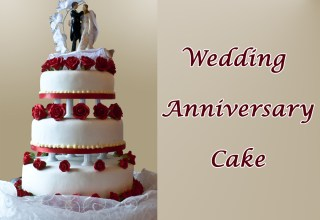 7 Amazing Flavors of Wedding Anniversary Cake Gift Ideas for Sweet-Heart