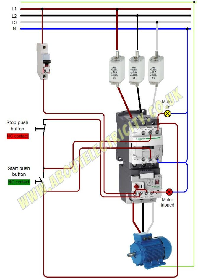 motor starter overload wiring diagrams  led accent lighting