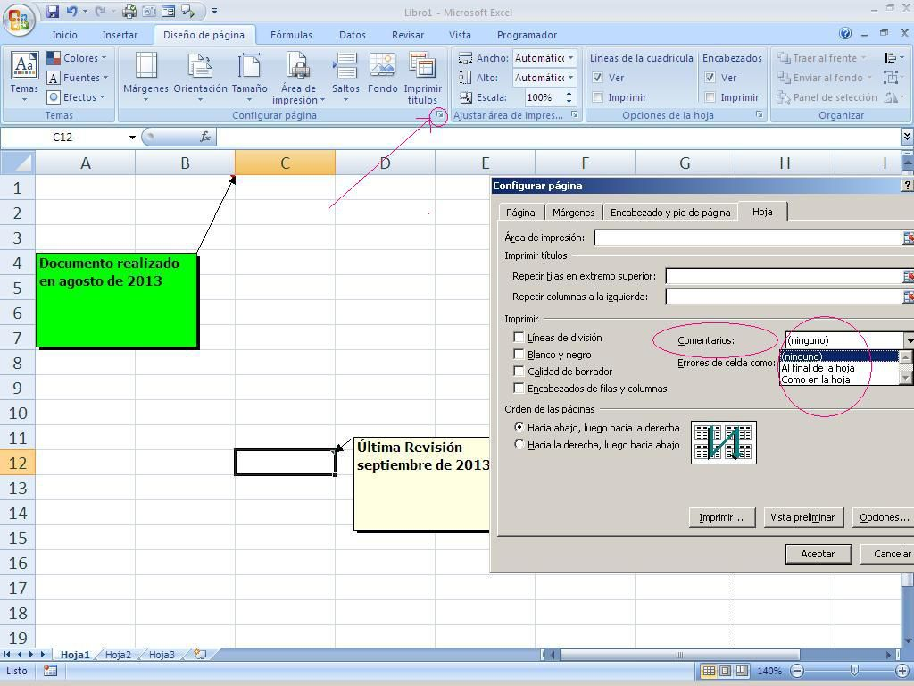 Comentarios En Excel Modifica Y Personaliza