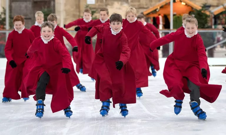 The Winchester Choristers Go Ice Skating