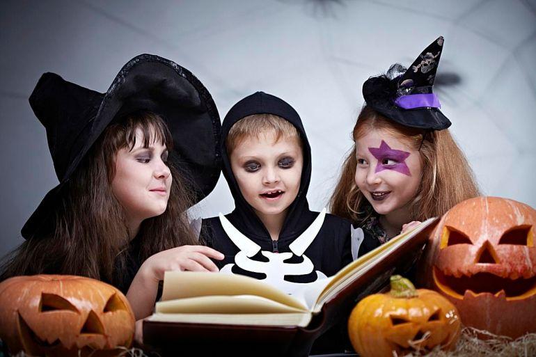 Cuentos de miedo para niños en Halloween