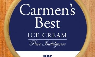 Carmen's Best Ice Cream: Ube flavor