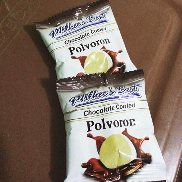 Milkee's Best Chocolate-Coated Polvoron