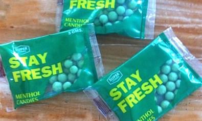 Stay Fresh menthol candies
